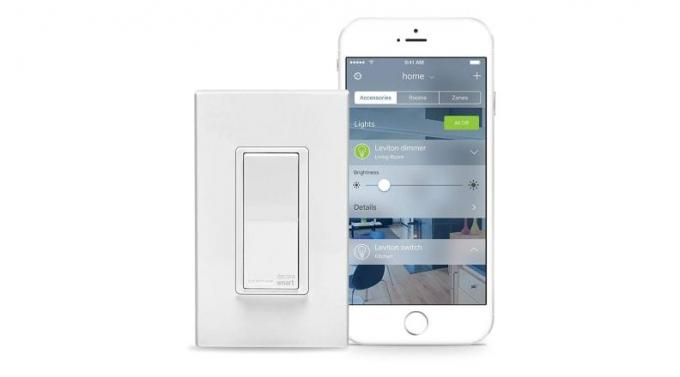 Leviton Decora Smart switch til Apple HomeKit