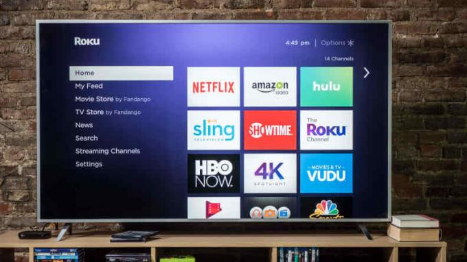 Roku Ultra-interface